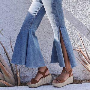 Flare Slit Jeans